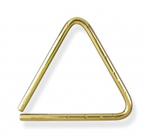 Grover Tr-bhl-8 - 8 Bronze Hammered Lite Symphonic Triangle