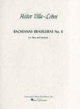 Heitor Villa-lobos - Bachianas Brasileiras No.6 Flt Boo - Flute