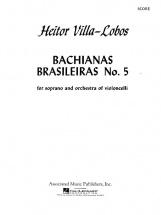 Villa-lobos H. - Bachianas Brasileiras N°5 - Score
