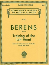 Hermann Berens Training The Left Hand Op.89 - Piano Solo
