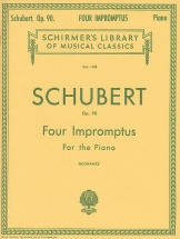 Franz Schubert Four Impromptus For Piano Op.90 - Piano Solo