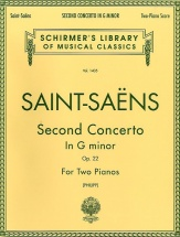 Camille Saint-saens Piano Concerto No.2 In G Minor Op.22 - Two Pianos