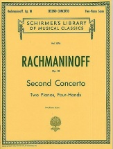 Sergei Rachmaninov Piano Concerto No.2 In C Minor Op.18 - Two Pianos