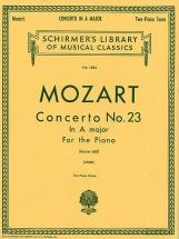 Mozart - Piano Concerto No.23 In A Major - Two Pianos