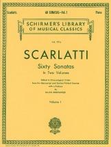 Domenico Scarlatti Sixty Sonatas Volume One - Harpsichord