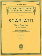 Scarlatti - Sixty Sonatas Volume Two - Piano Solo