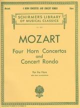 Mozart - Four Horn Concertos And Concert Rondo Hn - Horn