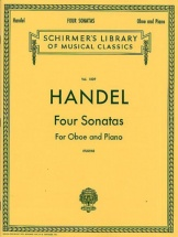 Haendel G.f - Four Sonatas For Oboe And Piano