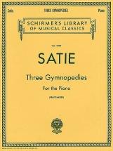 Erik Satie Three Gymnopedies - Piano Solo