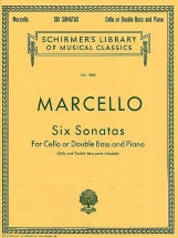Benedetto Marcello - Six Sonatas - Cello Or Double Bass