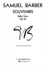 Samuel Barber - Souvenirs Op.28 - Piano Duet
