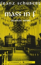 Schubert - Mass In F Chor - Satb