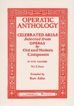 Operatic Anthology Volume V Bass - Opera