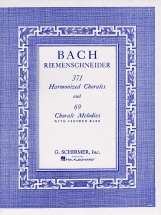 J.s. Bach - 371 Harmonized Chorales And 69 Chorale Melodies With Fig Bass - Piano Solo