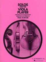 Solos For The Viola Player Vla - Viola