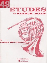 Verne Reynolds - 48 Etudes For French Horn