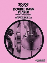 Zimmerman Oscar - Solos For The Double Bass Player