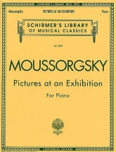 Modest Mussorgsky Pictures At An Exhibition - Piano Solo