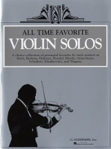 All Time Favourite Violin Solos - Violin