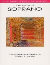 Opera Anthology Arias For Soprano Edited Larsen