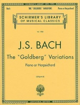 J.s. Bach The Goldberg Variations - Harpsichord