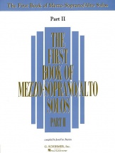 The First Book Of Mezzo-soprano/alto Solos Part Ii
