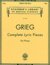 Edvard Grieg Complete Lyric Pieces- Piano Solo