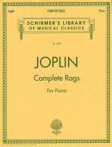 Scott Joplin - Complete Rags - Piano Solo