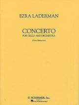 Ezra Laderman - Concerto For Cello And Orchestra - Cello