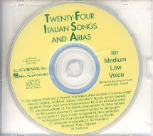 Twenty-four Italian Songs And Arias Of The 17th And 18th Centuries M - Voice