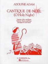 Adolphe Adam Cantique De Noel Vocal Duet - Alto