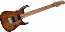 Sterling By Music Man John Petrucci Jp15 Flame Maple Island Burst 7 Cordes