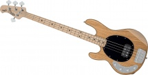 Sterling By Music Man Stingray Ashwood Natural, Gaucher