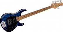 Sterling By Music Man Stingray5 - Quilted Maple Neptune Blue
