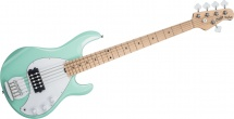 Sterling By Music Man Stingray Mint Green, 5-cordes