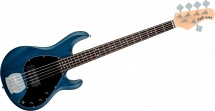Sterling By Music Man Stingray Trans Blue Satin, 5-cordes