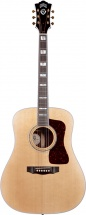 Guitare Electro-acoustique Guild Traditional Series D-55 Avec D Tar Wave Lenght Palissandre Dreadnought Natural
