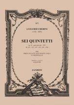 Boccherini L. - Sei Quintetti - Flute, 2 Violons, Alto Et Violoncelles