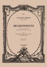 Boccherini L. - Sei Quintetti - 2 Violons, Alto, Violoncelle Et Piano