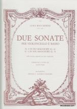 Boccherini L. - Due Sonate Per Violoncello E Basso