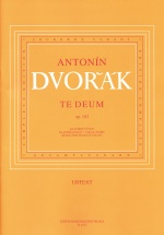 Dvorak A. - Te Deum - Chant-piano