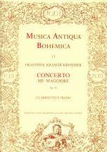 Kramar-krommer - Concerto Mib Maggiore Op.36 - Clarinette, Piano