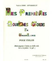 Bime-appareilly Valerie - Mes Premieres Doubles Cordes - Violon
