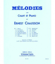 Chausson Ernest - 14 Melodies Pour Chant and Piano