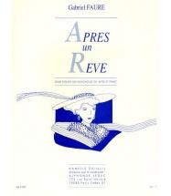Faure Gabriel - Apres Un Reve - Violoncelle (violon) Et Piano