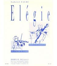 Faure - Elegie - Violoncelle Ou Violon, Piano
