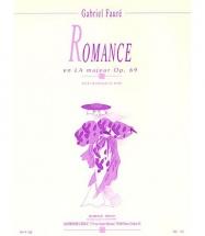 Faure G. - Romance Op.69 La Majeur - Violoncelle Et Piano