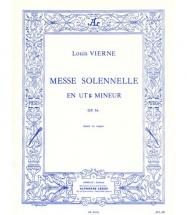 Vierne L. - Messe Solennelle En Ut Diese Mineur - Chant & Orgue