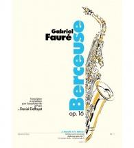 Faure Gabriel - Berceuse Op.16 - Saxophone, Piano