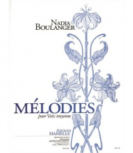 Boulanger Nadia - Melodies Pour Voix Moyenne
